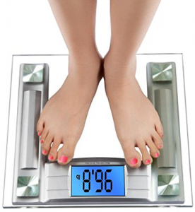 BalanceFrom High Accuracy Digital Bathroom Scale with Backlit Display