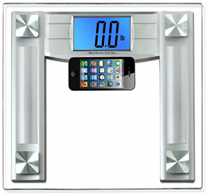 BalanceFrom Large Backlight Display High Accuracy Digital Bathroom Scale