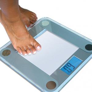 Digital Bathroom EatSmart Auto Step On LCD Backlight