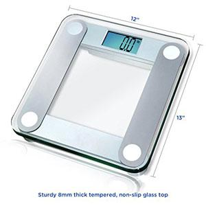 EatSmart Scale Tempered Glass Top