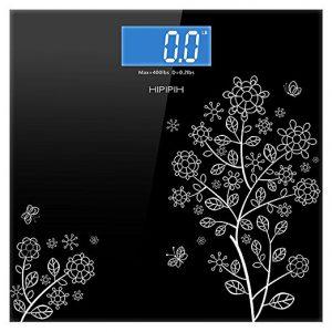 Hippih 400lb / 180kg Electronic Bathroom Scale
