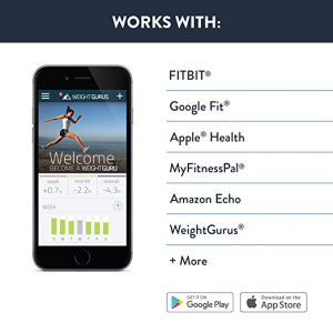Weight Gurus Bluetooth Smart Body Scale Fitness Apps Compatibility and integration