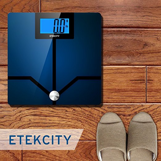 400 lbs Bluetooth Etekcity Digital LCD Display Smart Bathroom Scale