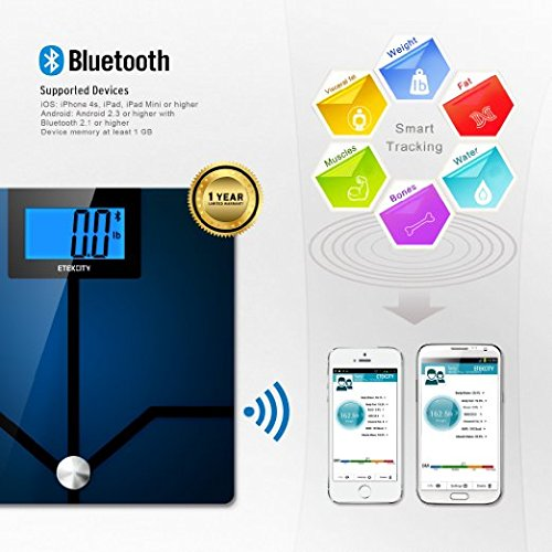 Etekcity Bluetooth Supported Device for bathroom digital scale