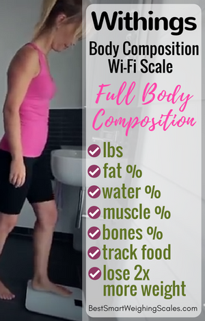 Withings Body Composition WiFi Scale features